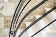 Rampe fer forgé Art déco (5)