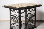 Table basse fer forgé (2)