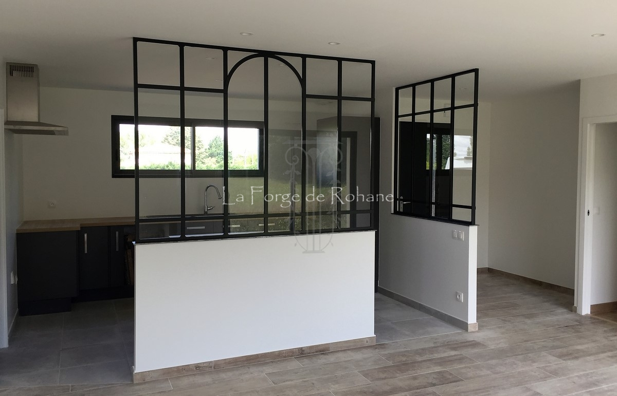 Desserte Buffet Cuisine Ikea ~ 8 Interior Glass Walls La Forge De Rohane
