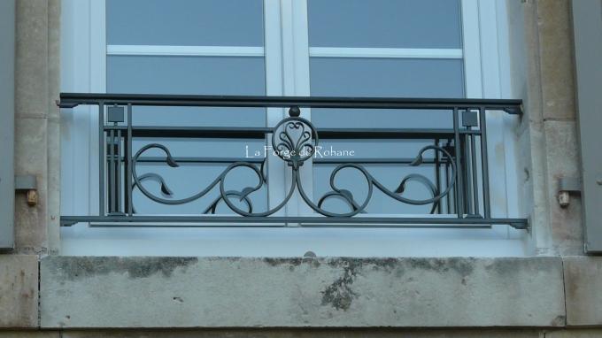 Garde Corps De Fenêtre La Forge De Rohane