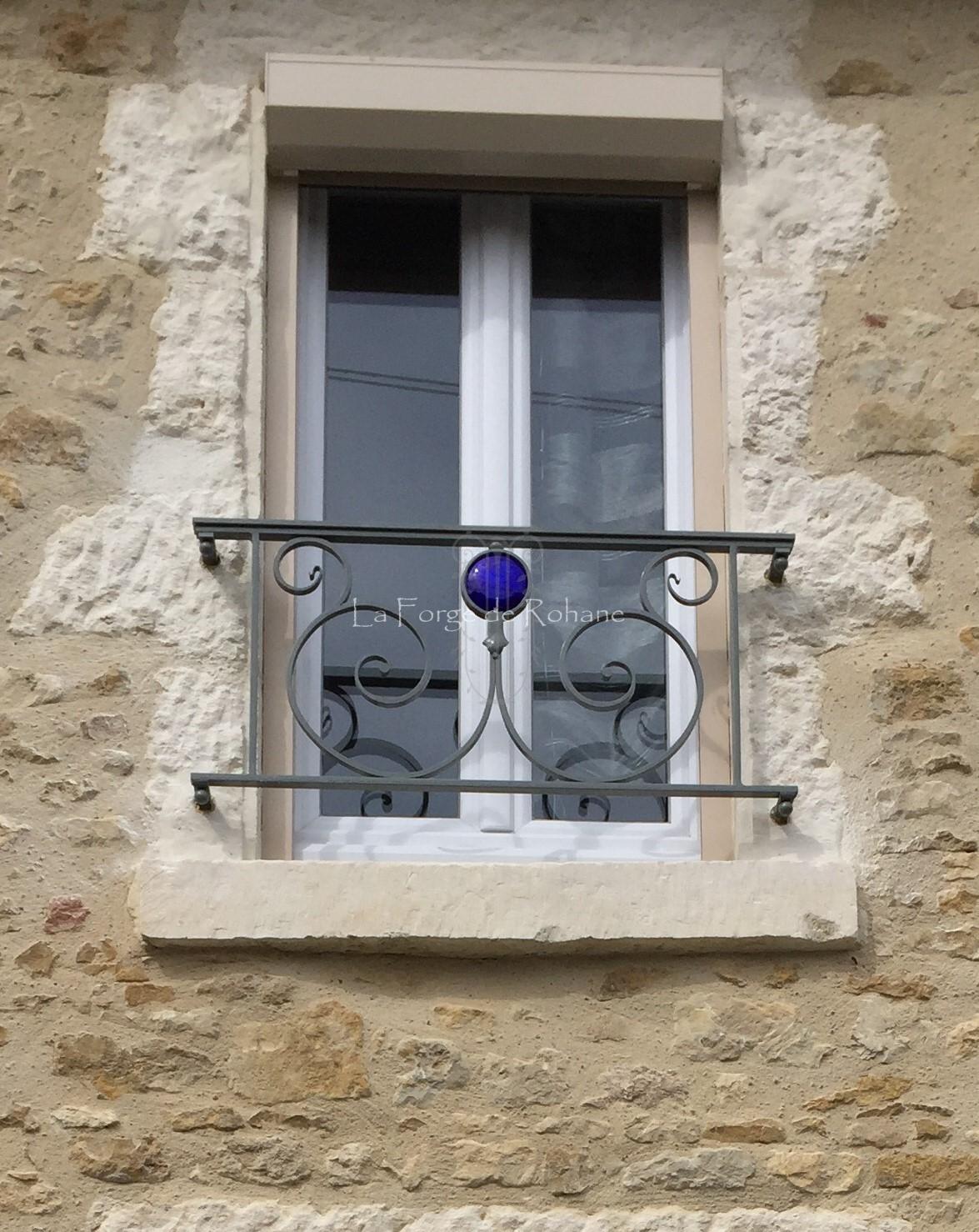 Garde Corps Et Grilles De Fenêtre La Forge De Rohane
