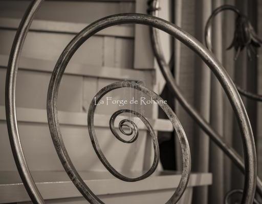 Rampe d'escalier et Mains Courantes